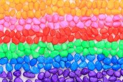barwioni mali klejnoty obrazy stock