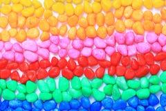 barwioni mali klejnoty fotografia stock