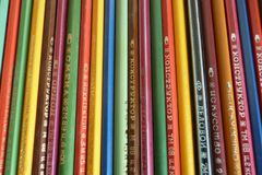Barwioni ołówki, robić w USSR ilustracji