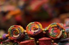 Barwioni pompony Fotografia Stock