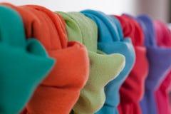 Barwioni scarves Fotografia Royalty Free