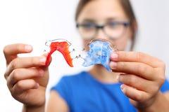 Barwioni stomatologiczni brasy Obraz Royalty Free