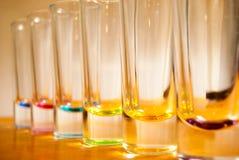 Barwiony szkło Obrazy Stock
