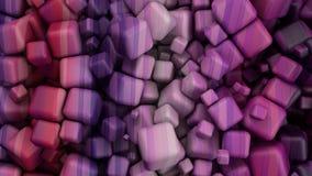 Barwioni sześciany Zdjęcia Stock