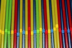 Barwioni tubules dla napoju tła obrazy royalty free