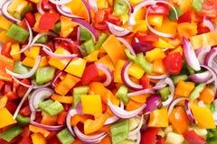 Barwioni warzywa Zdjęcie Stock