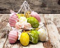 Barwioni Wielkanocni jajka Zdjęcie Royalty Free