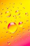 Barwiony abstrakta tło Fotografia Royalty Free