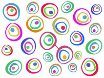 Barwiony abstrakta wzór Obrazy Stock