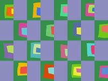 Barwiony abstrakta wzór Zdjęcie Royalty Free