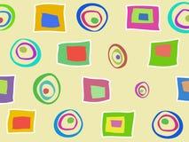 Barwiony abstrakta wzór Zdjęcia Royalty Free