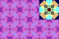 Barwiony abstrakta wzór Zdjęcia Stock