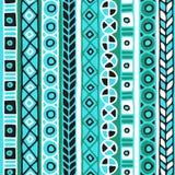 Barwiony bezszwowy wzór lampasy Fotografia Stock