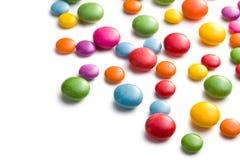 Barwiony cukierek Zdjęcia Royalty Free