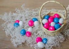 Barwiony cukierek dla świętowania Fotografia Stock