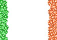 Barwiony cytrusa t?o Wapno, Grapefruitowy wektor ilustracji