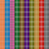 barwiony deseniowy scottish Obraz Royalty Free