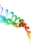 barwiony dym Obraz Royalty Free