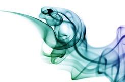 barwiony dym Fotografia Royalty Free