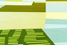 Barwiony dywan Obraz Stock