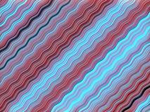 Barwiony Falisty tło Dynamiczny skutek pojęcia projekta restauraci szablon Nowożytny wzór świadczenia 3 d ilustracja wektor