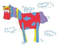barwiony koń Fotografia Royalty Free