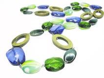 barwiony koralika jewellery Zdjęcie Royalty Free