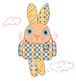barwiony królik Obraz Stock