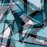Barwiony linia graffiti wzór na czarnej tło wektoru ilustraci ilustracji