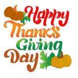 Barwiony literowania dziękczynienia dzień zdjęcia stock