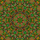 Barwiony mandala royalty ilustracja