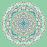 barwiony mandala wektor ilustracja wektor