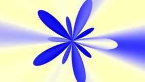 Barwiony materiał filmowy (kwiat) royalty ilustracja