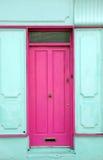 Barwiony menchii drzwi Fotografia Royalty Free