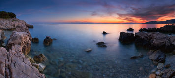 barwiony morze Obrazy Royalty Free