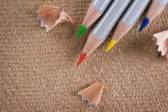 barwiony ołówek Zdjęcia Stock