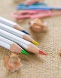 barwiony ołówek Fotografia Stock
