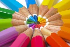 barwiony ołówek Zdjęcie Royalty Free