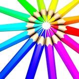 Barwiony ołówek Obraz Stock
