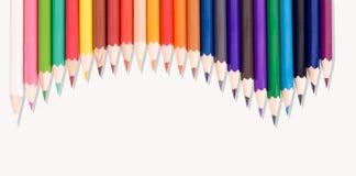 Barwiony ołówek Zdjęcie Stock