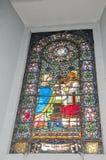 Barwiony okno Fotografia Stock