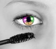Barwiony oko Obrazy Stock