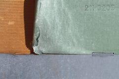 Barwiony panwiowy karton Fotografia Royalty Free