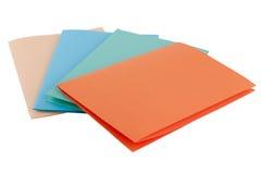 barwiony papier Obrazy Stock