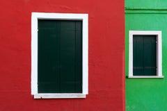 Barwiony pudełko od wyspy Burano zdjęcie royalty free