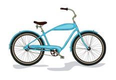 Barwiony rocznika bicykl Fotografia Royalty Free