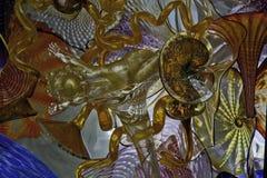 Barwiony szkło Ceiling2 Obraz Stock