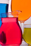 barwiony szkło Obraz Stock