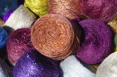 Barwiony sznurek Zdjęcie Stock