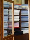 barwiony tkanin sklepu krawczyna Obraz Stock